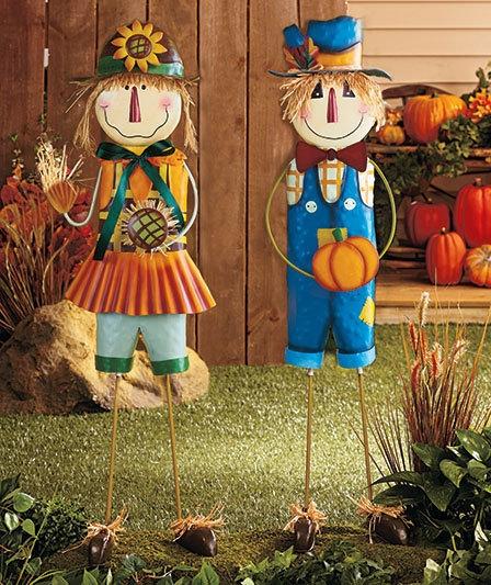 Садовые фигурки своими руками из подручных