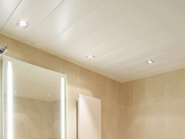 Подвесной потолок в ванной из панелей пвх своими руками видео
