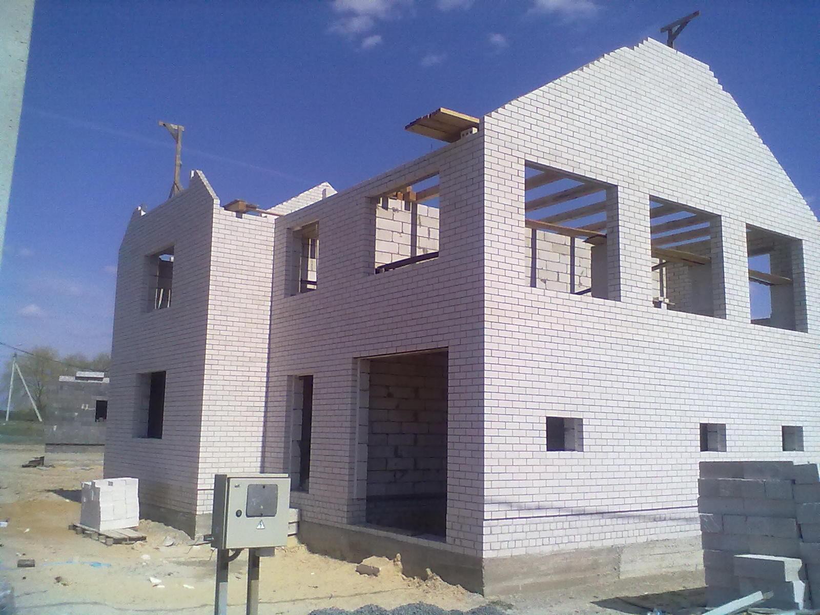 Построить дом с нуля своими руками фото