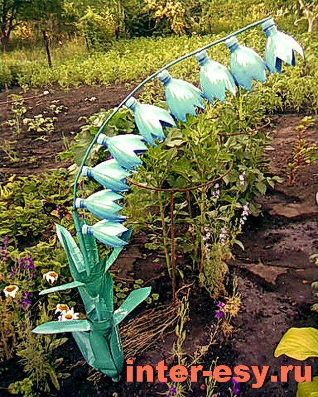 Поделки для дачи своими руками для сада и огорода 43