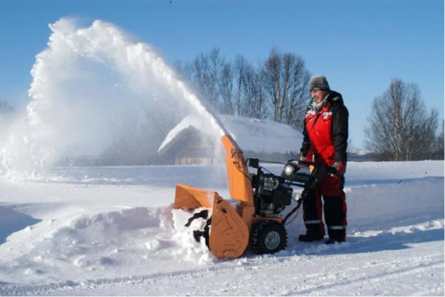 Снегоуборочную машину для дачи своими руками