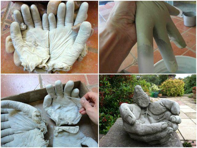 Мастер класс садовые фигуры из гипса своими руками