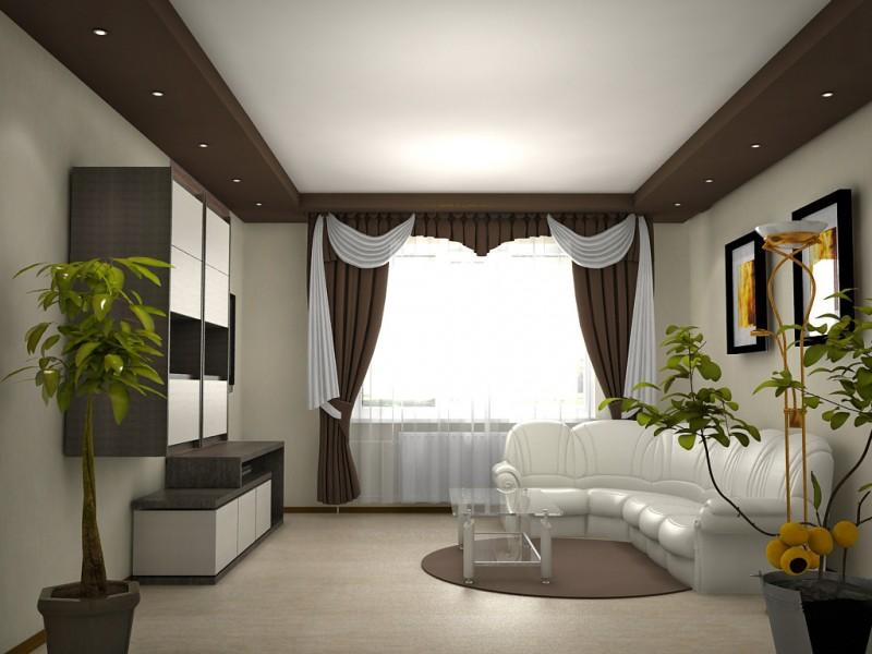 Дизайн зала 20 кв м в квартире с камином 34